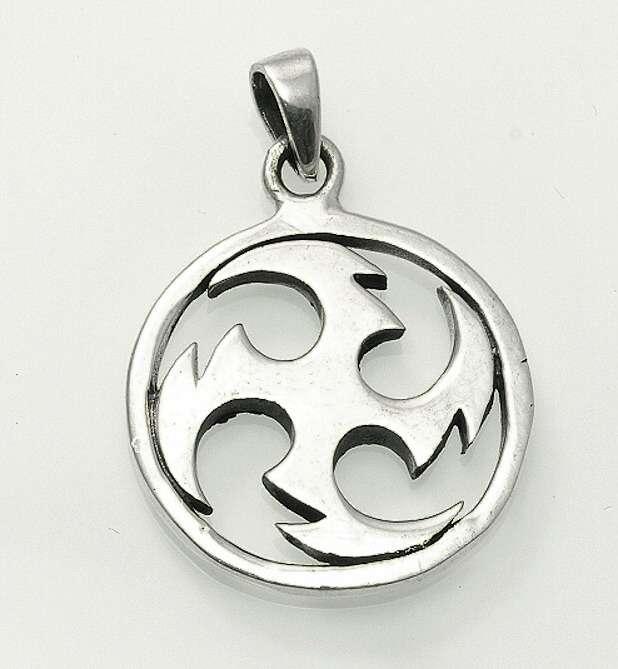 Stříbrný přívěsek Keltská spirála  070161032
