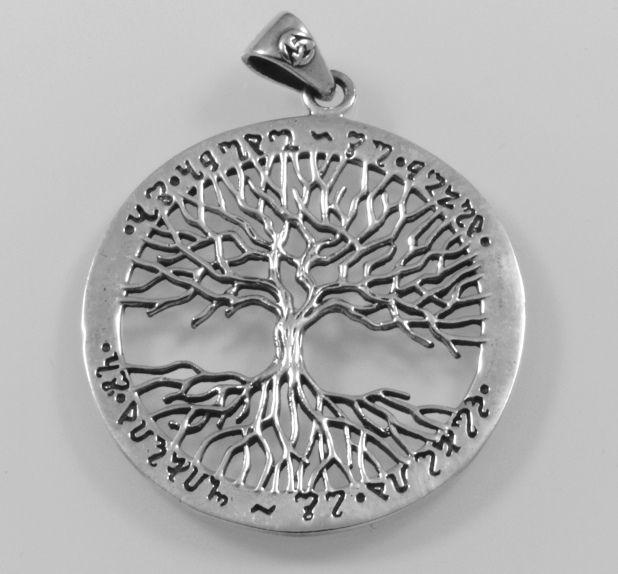 Stříbrný přívěsek  Strom života