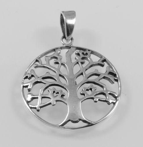 Stříbrný přívěsek Strom života No.0
