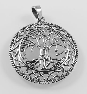 Stříbrný přívěsek Strom života No.03