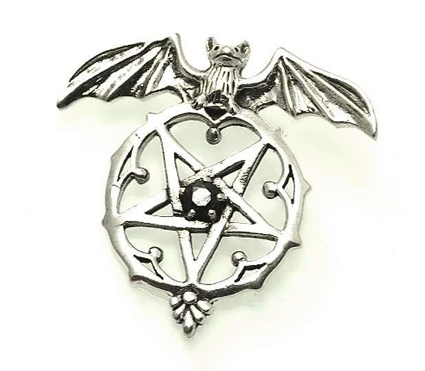 Stříbrný přívěsek Pentagram No. 019.  070161023