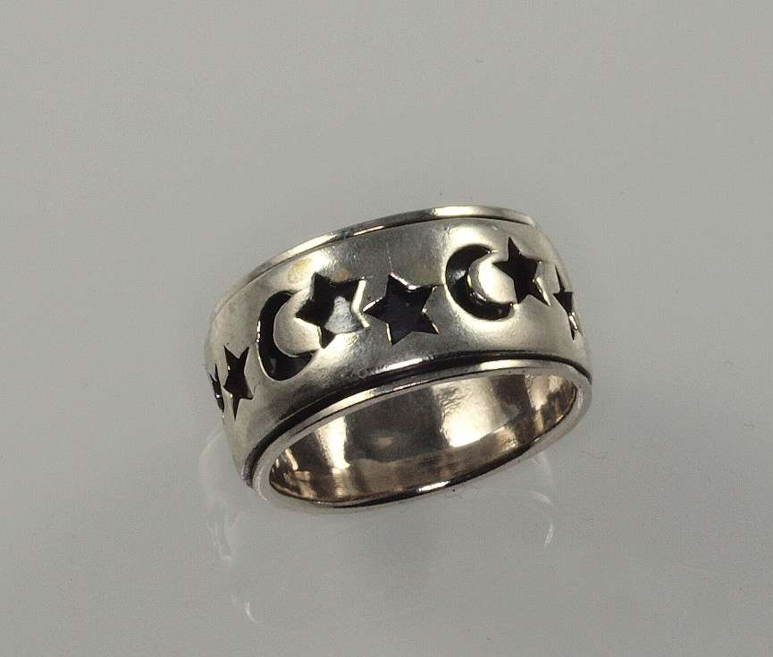 stříbrný prsten kroužek 4