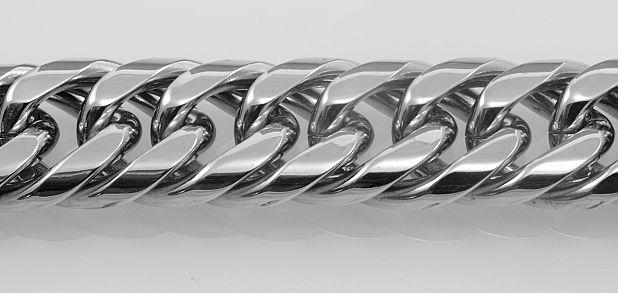 Ocelový řetízek Buby  . OCRET240091