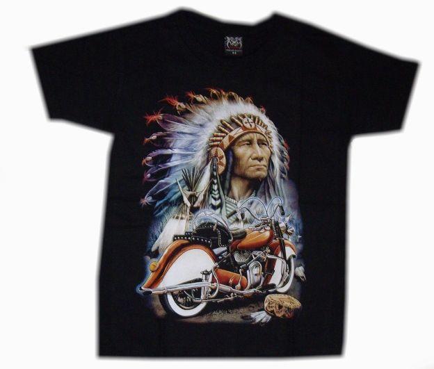 Dětské tričko Indián