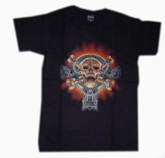Dětské tričko, mystický motiv Keltský kříž HERO BUFF