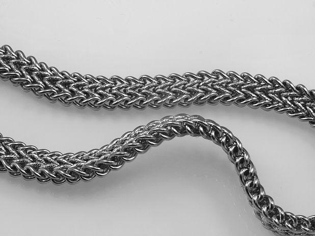 Ocelový řetízek Darmien. OCRET240087