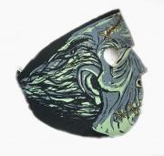 2.  Neoprénová maska Lebka 3