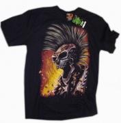 Tričko Motorkář s pekla , zadní část. TRIK215