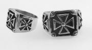 Ocelový prsten - MALTÉZÁK No.1