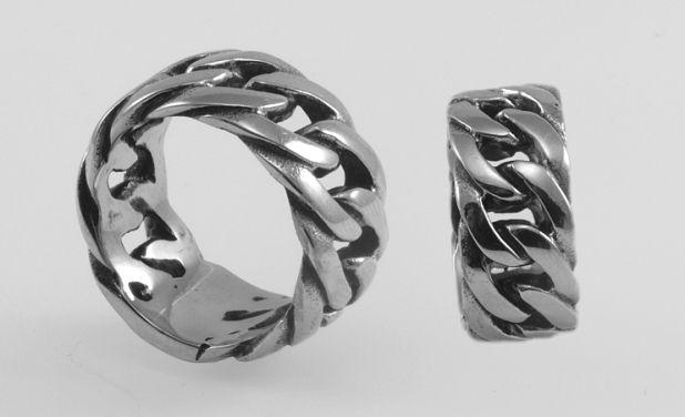 Ocelový prsten, kroužek  OCPRST210016