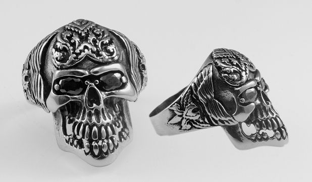 Ocelový prsten Garronne.  OCPRST220008