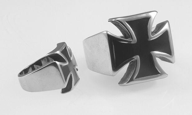 Ocelový prsaten, Maltézský kříž  OCPRST620010