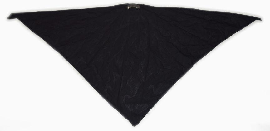 Textilní šátek černý. SAT2003