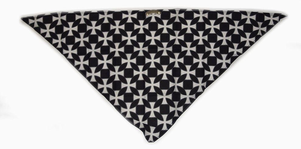 Textilní šátek na obličej, Maltézský kříž. SAT2006