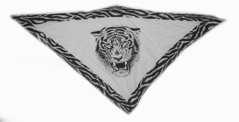 Textilní šátek na obličej  Tygr.  SAT2010