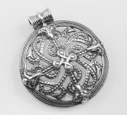 Stříbrný šperk, přívěsek Štít Vikinga RiverSperky