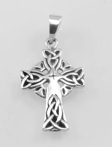 Stříbrný přívěsek, Keltský kříž.  AGPRIV620143