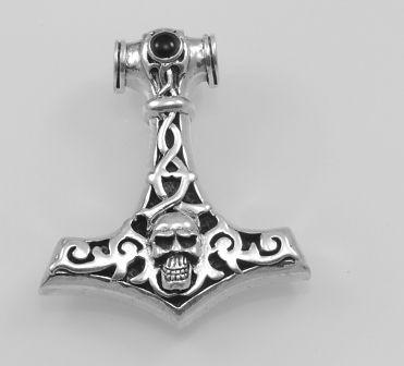 Stříbrný přívěsek, Thorovo kladivo.  AGPRIV620138