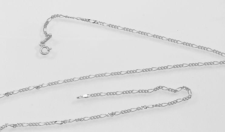 Stříbrný řetízek Figaro 02.  AGRET600030