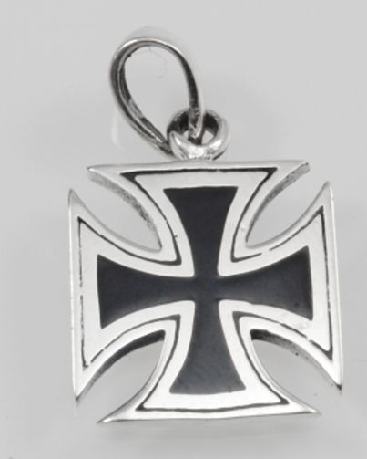 SilverAgi Bangkok co.ltd. Stříbrný přívěsek.Maltézský kříž. AGPRIV620222
