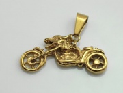Přívěsek Motorka Gold