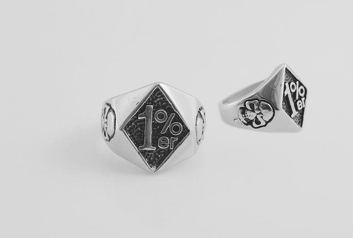 Prsten ocel 316L, 1%.