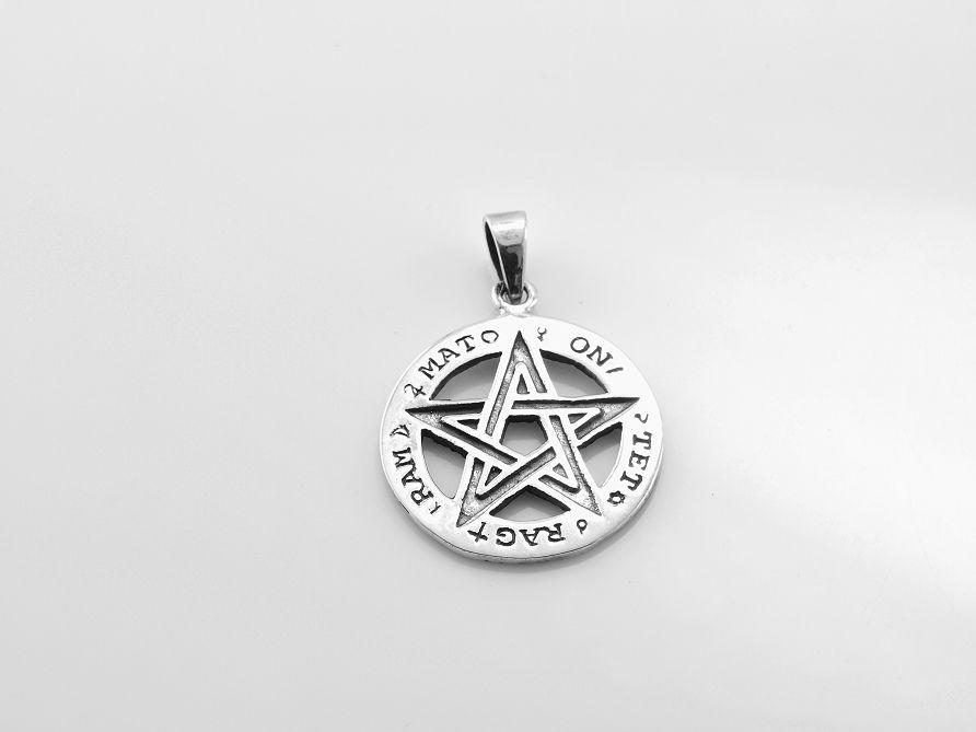 Stříbrný přívěsek Tetragrammaton 3. AGPRIV620203