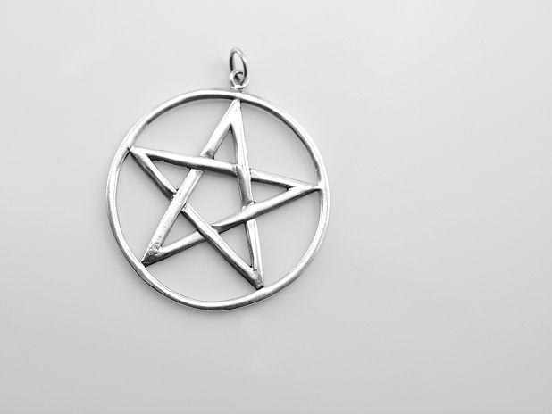 ThajskoSilvermanufacture. Stříbrný přívěsek, Pentagram No.33. AGPRIV620257