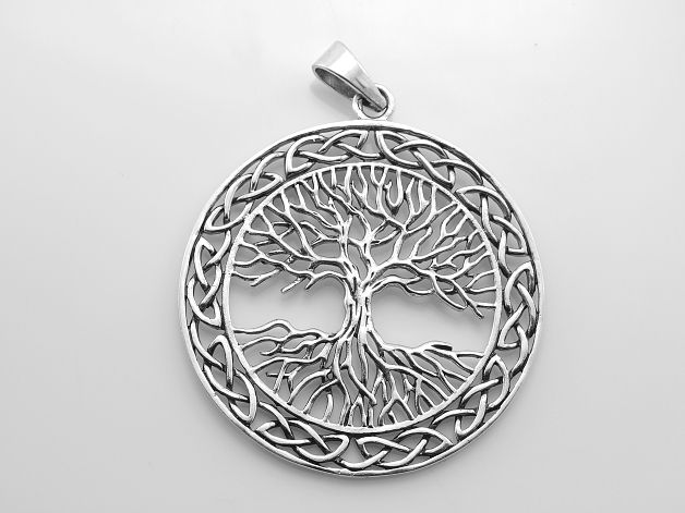 Stříbrný přívěsek Strom života No.012