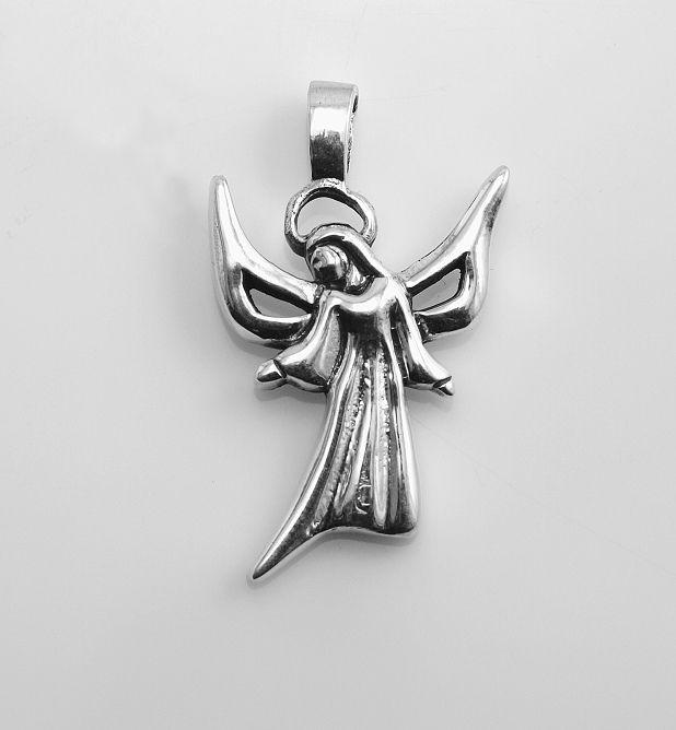 Stříbrný přívěsek Anděl
