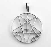 Přívěsek - Obrácený Pentagram No.02