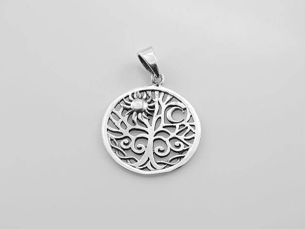 Stříbrný přívěsek Strom života No.10. AGPRIV620194
