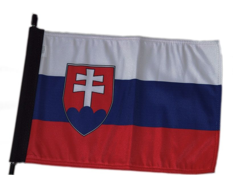 1. Vlajka na motorku Slovenská republika