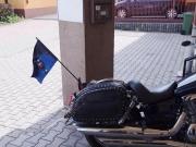 Vlajka na motorku