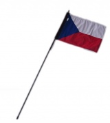 2. Vlajka na motorku CS