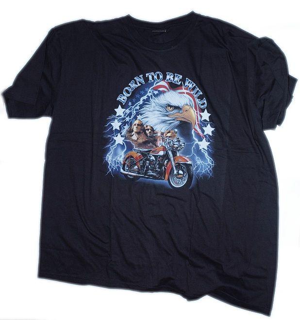 Motorkářské tričko Born...